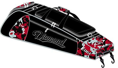 Diamond Sports Edge Wheeled Baseball/Softball Bat Bag by Diamond