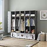 KOUSI Portable Clothes Closet Wardrobe Bedroom