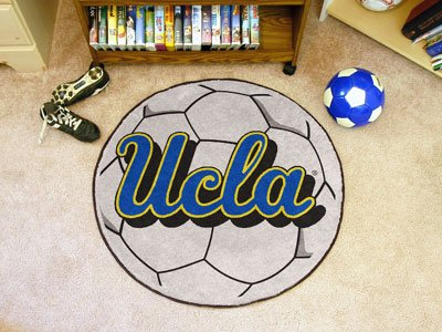 FANMATS UCLA Bruins NCAA Soccer Ball Round Floor Mat (29) by Fanmats