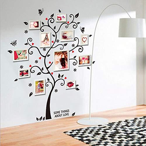 PiniceCore 100 120cm 40 48in 3D Rimovibile Foto Albero Parete del PVC Decalcomanie//Adesivi Adesivi murali murale Domestico di Arte della