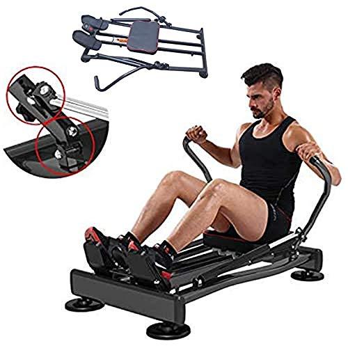 Ffitness FLMD412N Professioneel roeiapparaat voor thuis, hydraulische weerstand, fitness cardio Total Body Trainer…