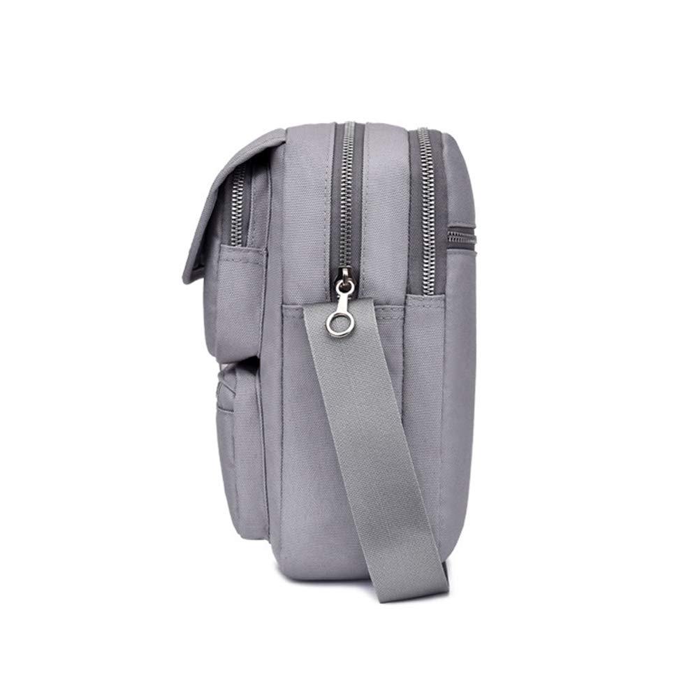 Blue Simple Shoulder Bag Chest Bag Purse Travel Messenger Bag,Casual Outdoor Sports Bag TENDYCOCO Multi-function Oxford Cloth Crossbody Bag