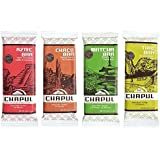 Chapul Cricket Flour Protein Bars – Sampler Gift – 1 Of Every Delicious Flavor – Cricket Protein – By Chapul (4 Pack)