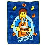 LEGO Movie Micro Raschel Throw Blanket - Emmet