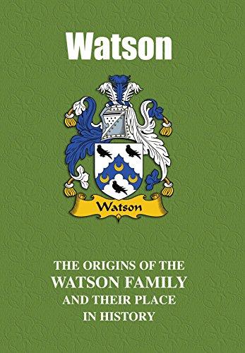 Amazon com: Watson (English Name Mini-Book): The origins of