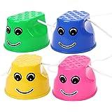 Toyvian Juguetes Deportivos para niños, zancos, Entrenamiento sensorial, zancos, Equilibrio, Desarrollo de Habilidades…