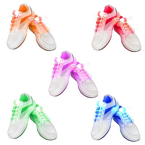 2win2buy Waterproof Luminous Shoelaces Fashion product image
