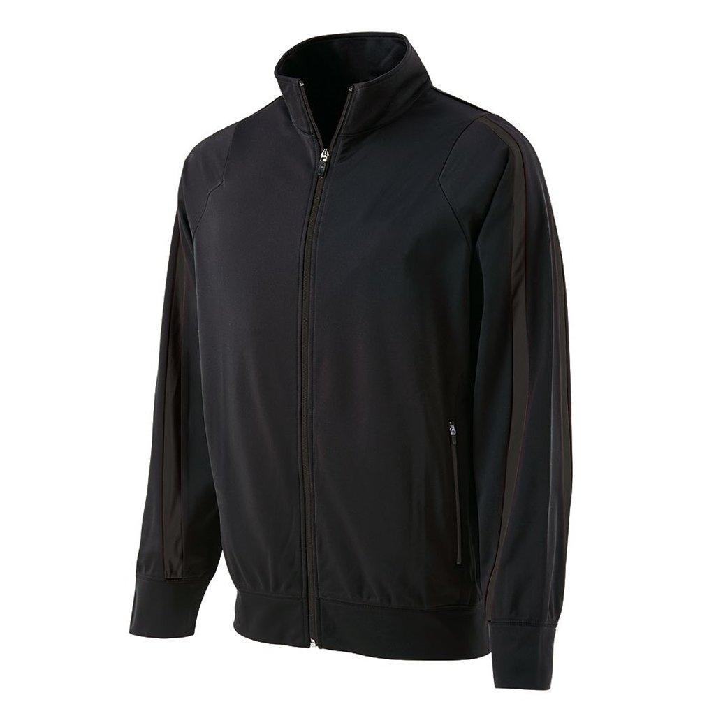 Holloway Youth Determination Jacket (Small, Black/Black) by Holloway