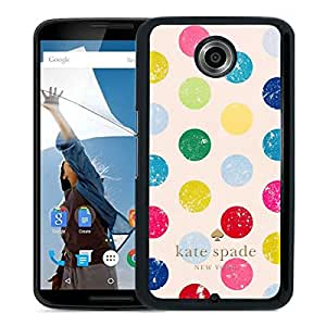 Kate Spade Cover Case For Google Nexus 6 Black Phone Case 17