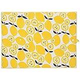 Now Designs Microfiber Drying Mat, Lemon Pop