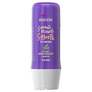 Aussie 3 Minute Miracle Smooth Deep Conditioner 8 oz (Pack of 3)