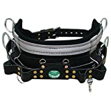 Buckingham 2019M-22 Light Weight Full Float Body Belt (Color: Black, Tamaño: 22)