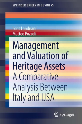 Download Management and Valuation of Heritage Assets: A Comparative Analysis Between Italy and USA (SpringerBriefs in Business) Pdf
