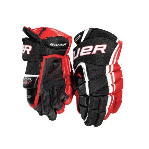 Bauer Vapor APX Senior Hockey Gloves - Blue/Orange - 14 Inch