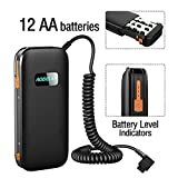 Best Battery Pack For Camera Flashes - AODELAN External Flash Battery Pack Battery Power Bank Review