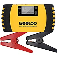 Gooloo GP200 1000A Peak 20800mAh Portable Car Jump Starter (Yellow)