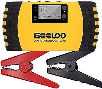 Gooloo GP200 1000A Peak 20800mAh Portable Car Jump Starter