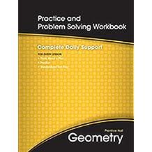 Prentice Hall Geometry, Practice and Problem Solving Workbook
