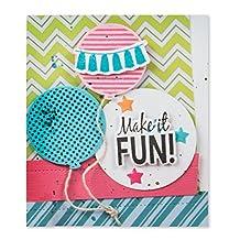 Spellbinders SCSD-013 Stamp/Die Set, Balloon Fun