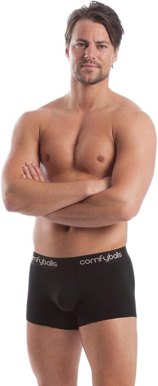 Pitch Black Comfyballs Coolmax Performance Mens Boxer Trunk
