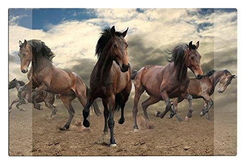68 x 44 cm avec motif cheval Sous-main//dimensions