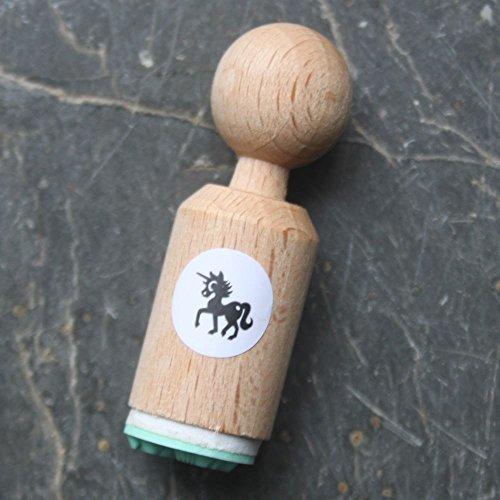 Unicorn Very Mini Rubber Stamp - Craft / Scrapbooking
