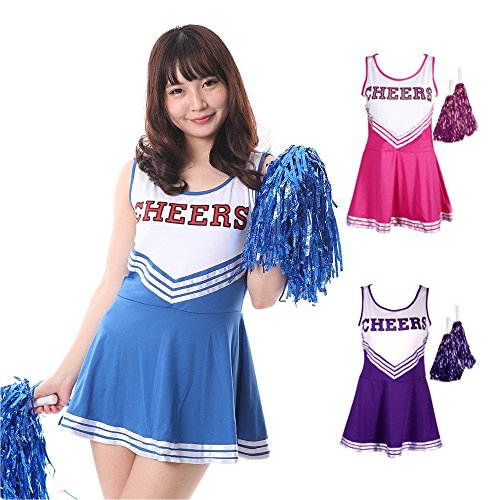 monoii cheerleader cosplay Halloween costume cheerleader costume 389]()