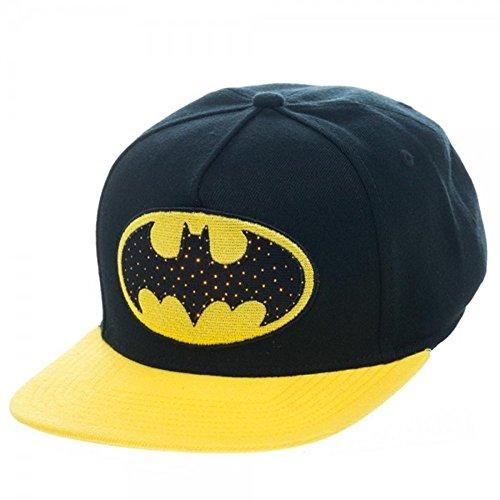 DC Comics Batman Harley Quinn Adjustable Baseball Cap (Batman Fiber Optic)