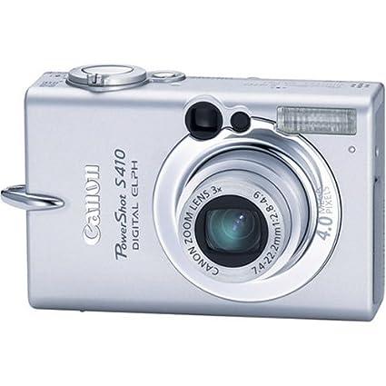 amazon com canon powershot s410 4mp digital elph with 3x optical rh amazon com