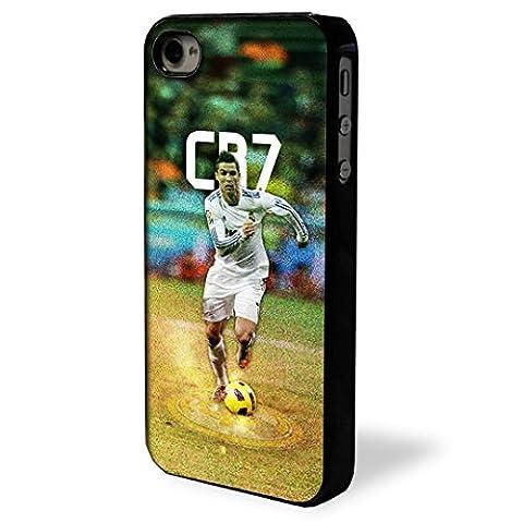 Cover Case Cristiano Ronaldo CR7 Case for Apple iPhone & iPod (Case For iPhone 4 4G 4S) (Ipod 4 Cases Cr7)