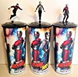 #3: Marvel Comics: Ant-Man and Wasp Movie Theater Exclusive Cup Toppers With 44 oz Cups