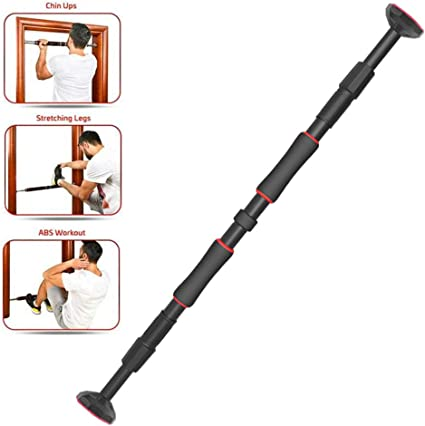 NEW HOME EXERCISE BAR CHIN UP PULL UP ABS HOME DOOR WAY GYM FITNESS WORKOUT BARS