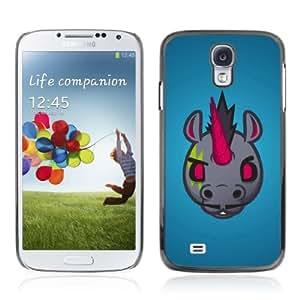 Designer Depo Hard Protection Case for Samsung Galaxy S4 / Evil Unicorn