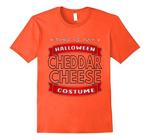 Die Costume Hard Design (Mens Cheddar Cheese Halloween Costume Shirt 2XL)