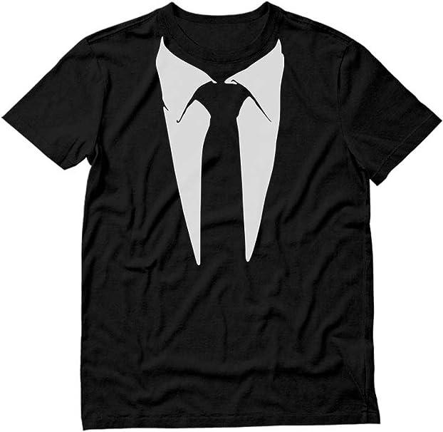 Amazon.com: Camiseta de esmoquin para fiesta con diseño de ...