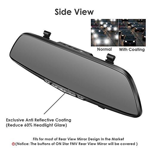Dash Cam Oumax Rv58hd Rear View Mirror Dash Cam Enhanced