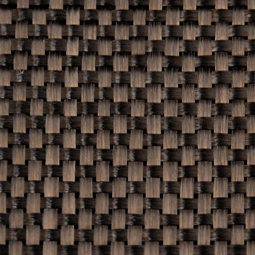 "Carbon Fiber Fabric 3K 5.7oz. x 50"" Plain Weave (282)- 3 Yard roll"