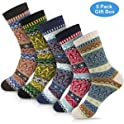 5-Pack Okiss Women's Winter Wool-Blend Socks