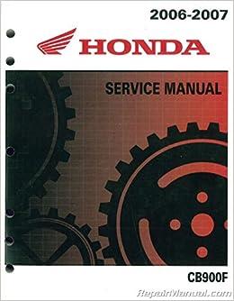 61MCZ05 2002-2007 Honda CB900F / 919 Motorcycle Service ... on