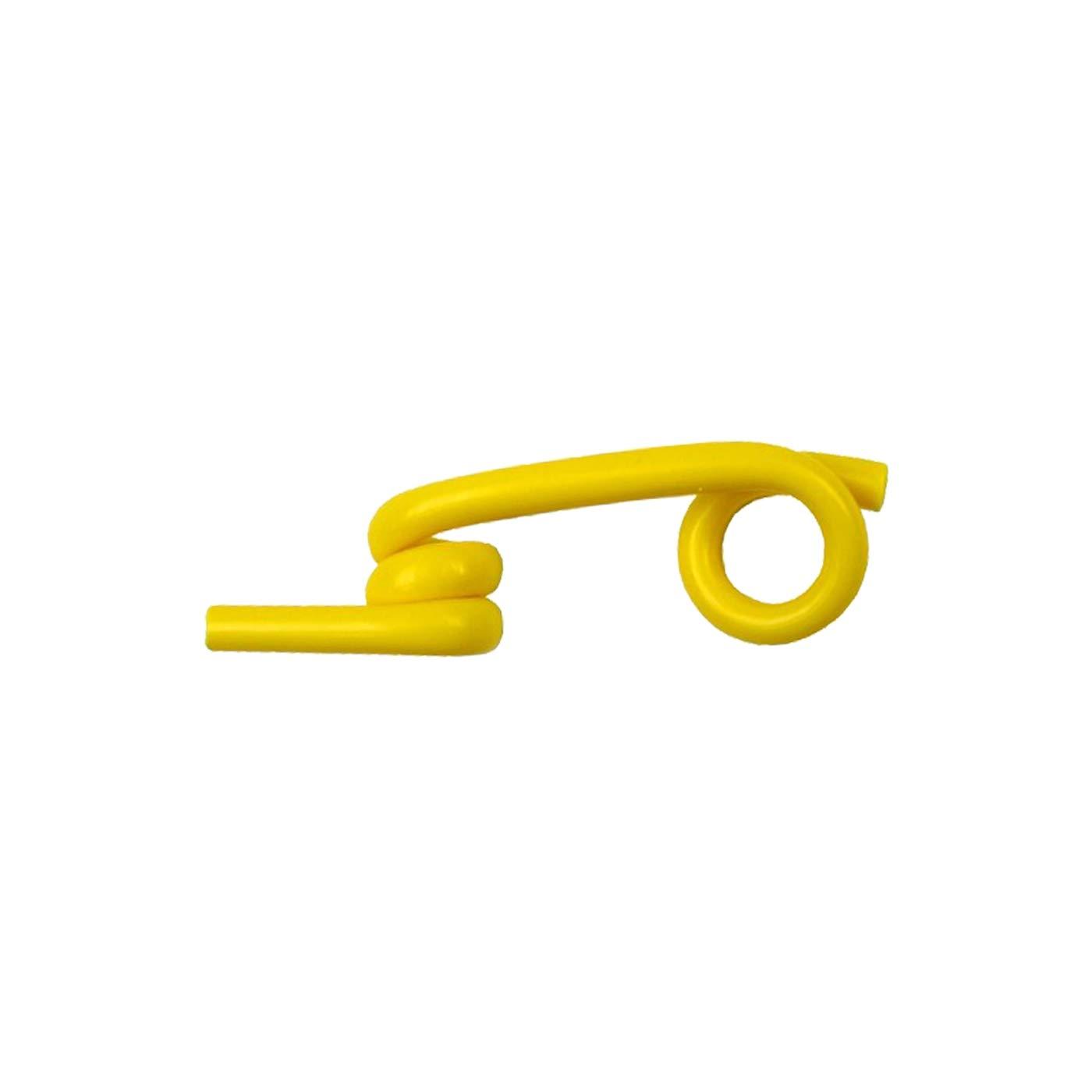 25x isolateurs supplémentaires pour cordons, fils, cordes, rubans de clôture jusqu'à 10mm (pour piquet en fibre de verre nr. 44474)