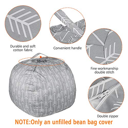 Buy large bean bag for stuffed animals