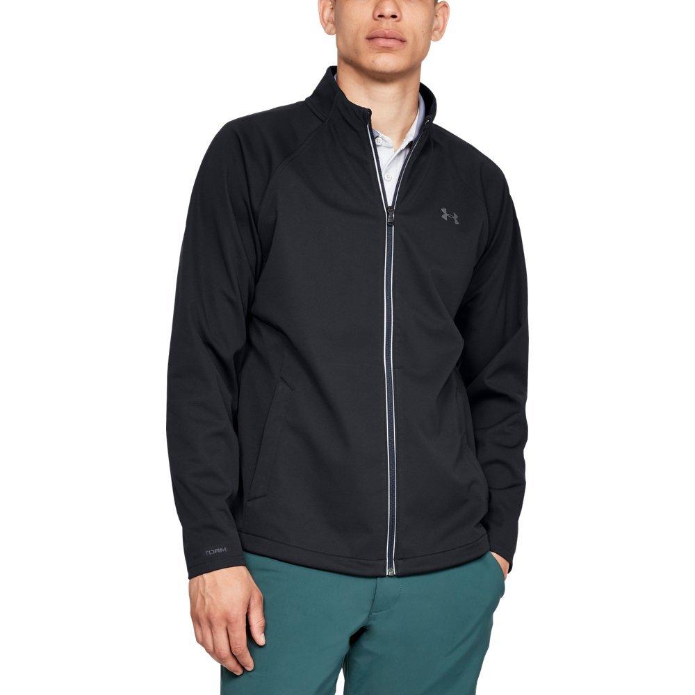 Under Armour Men's Storm Elements Full Zip Jacket, Black, Medium