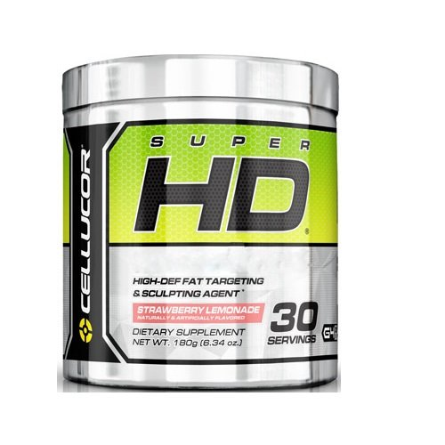 Cellucor Super HD Dietary Supplement, Strawberry Lemonade, 180 Gram