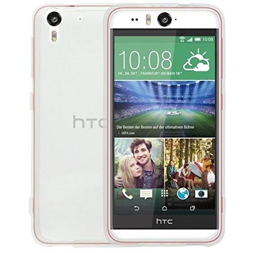 SOJITEK BPA-Free HTC Desire Eye Crystal Clear Transparent TPU Silicone Soft Plastic Cover Case