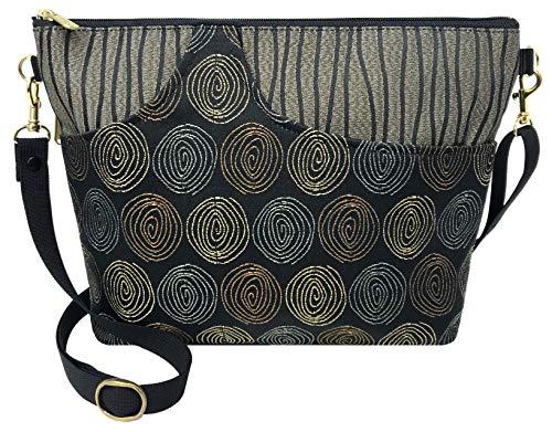 Danny K. Women's Tapestry Bag Shoulder Handbag, Large Zipper Purse Handmade in the USA (Getty/Gravity)
