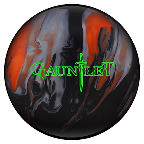 Hammer Gauntlet Bowling Ball- Orange/Black/Silver (15lbs)
