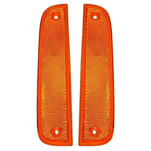 Jeep Cherokee Replacement Side Marker Light - 1-Pair - Jeep Cherokee Side Marker