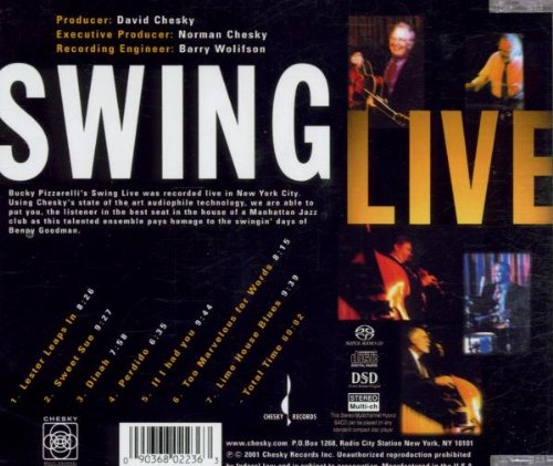 Swing Live (DL) by Chesky Records