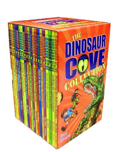 Dinosaur Cove Collection - 20 books box set (Haunting of the Ghost Runners, Attack of the Lizard King, Charge of the Three-horned Monster, Armoured Beasts, Winged Serpent, Giant Reptiles, Rampage - Cove Spas