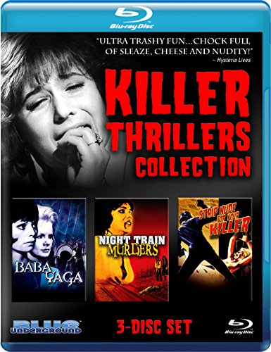 Devil Witch, the / Night Train Murders / Strip Nude for Your Killer - Set [Blu-ray]